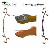 Ragim Wildcat Plus houten recurve handboog_