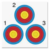 Fita Vegas | 3 targets | 40x40cm | per 10_