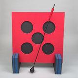 ELEVEN 5-Spots Shoot-out Larp Target | incl. steunen_