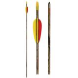 Camo Bow glasfiber pijl | 28, 30 & 32 inch_