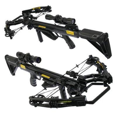 Accelerator 410+ BLACK | 185 lbs / 410 fps | Complete set!