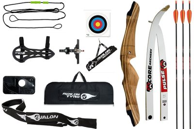 Voordeelset PLUS - CORE Archery recurve handboogset