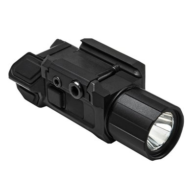 Vism - LED Flashlight met Strobe - Tactical | Weaver mount