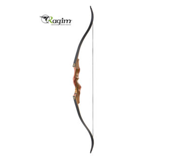 Ragim Impala DeLuxe Black jachtboog | 58, 60 of 62inch - 20 t/m 60lbs
