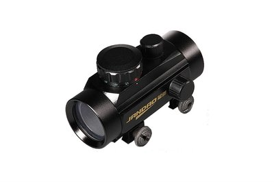 Jandao Red / Green Dot sight  1x40 | 3-DOT | Weaver mount