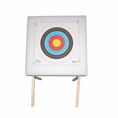 Doelpak Simply (60x60x10cm) incl. standaard   tot 20lbs
