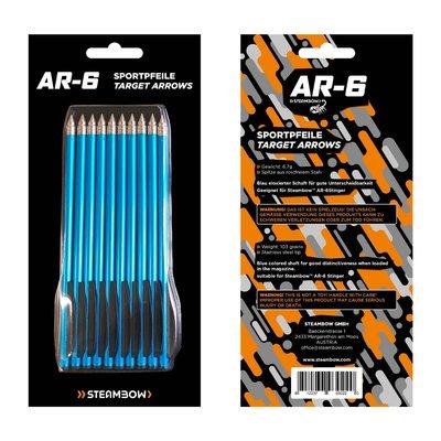 Steambow AR-6 Aluminium pijl | 6,5 inch | 10 stuks