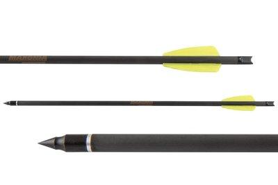 Maxonia R9 Cobra Carbon pijl | 15 inch | 12 stuks