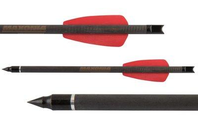 Maxonia R9 Cobra Carbon pijl | 7,5 inch | 12 stuks