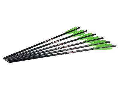 Excalibur FireBolt - Carbon pijl  | 20 inch | 6-pak