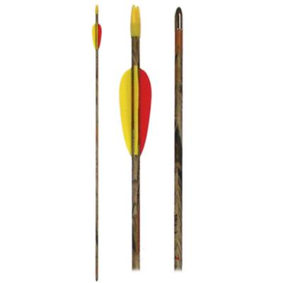 Camo Bow glasfiber pijl | 28, 30 & 32 inch | per 6