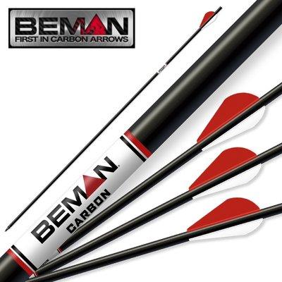 Beman White Box | carbon pijl tot 70lbs | per 4
