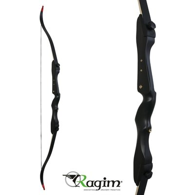 Ragim Matrix Junior Evo Black Edition houten recurve handboog