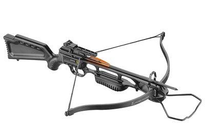 Ek-Archery Jaguar Black Basic - 40 LBS | GRATIS 2-in-1 Raillube