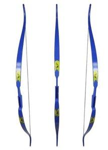 Rolan Snake Blue handboog 60 inch |  22 of 26lbs