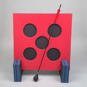 ELEVEN 5-Spots Shoot-out Larp Target | incl. steunen