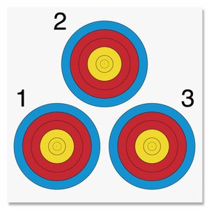 Blazoen Vegas - 3 targets - 40 x 40cm| per 10